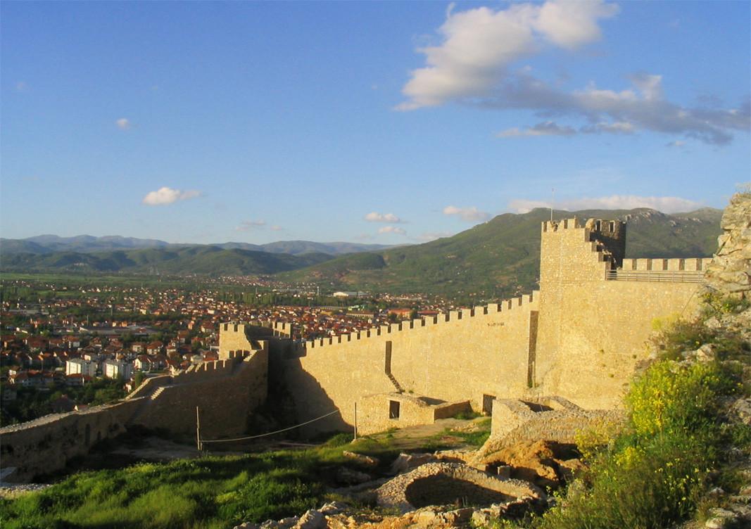 Крепостта на цар Самуил в Охрид