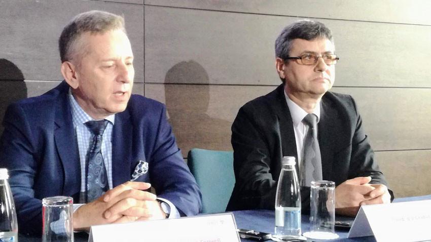 Проф. Григор Горчев и проф. Славчо Томов оповестиха, че през есента София ще бъде домакин на 11-ата среща на Европейската асоциация по роботизирана гинекологична хирургия