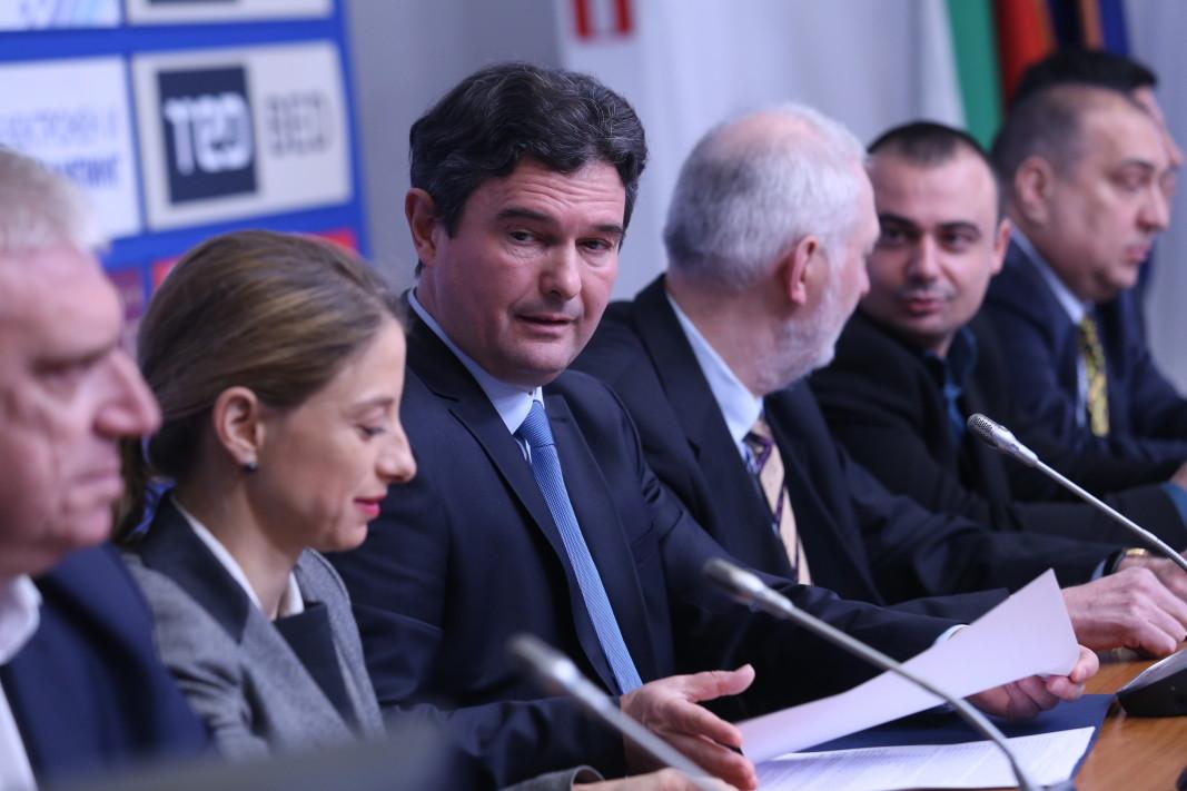 Найден Зеленогорски и негови колеги дадоха началото на нов десен политически проект, наречен ДЕН
