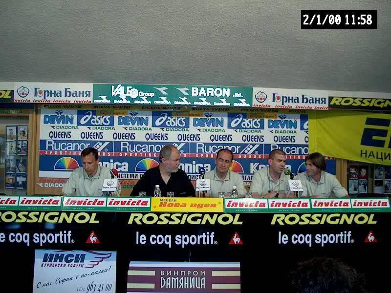 Пресконференция за Броуд Пик 2001