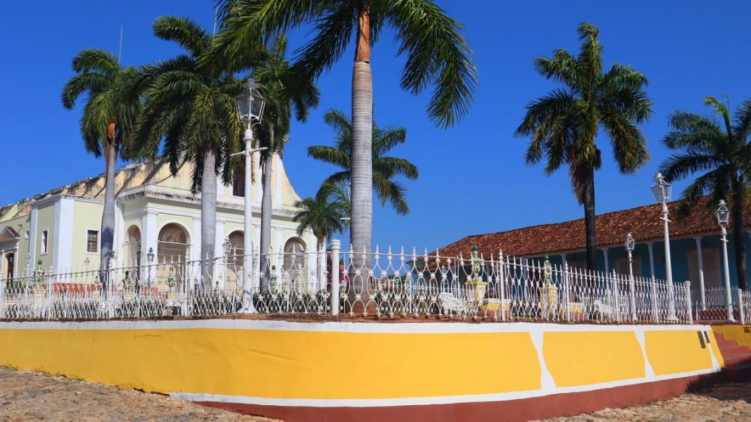 Катедрала в Тринидат, Куба     Снимка: личен архив