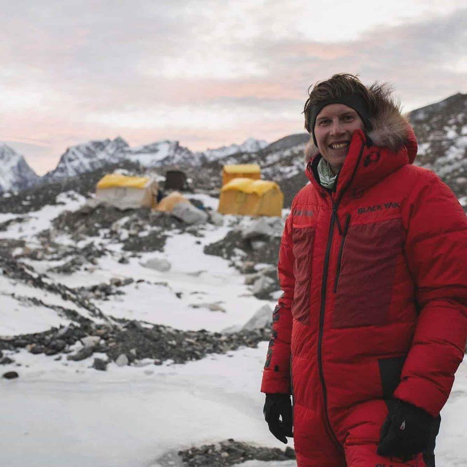 Кобуш в Базов лагер на Еверест