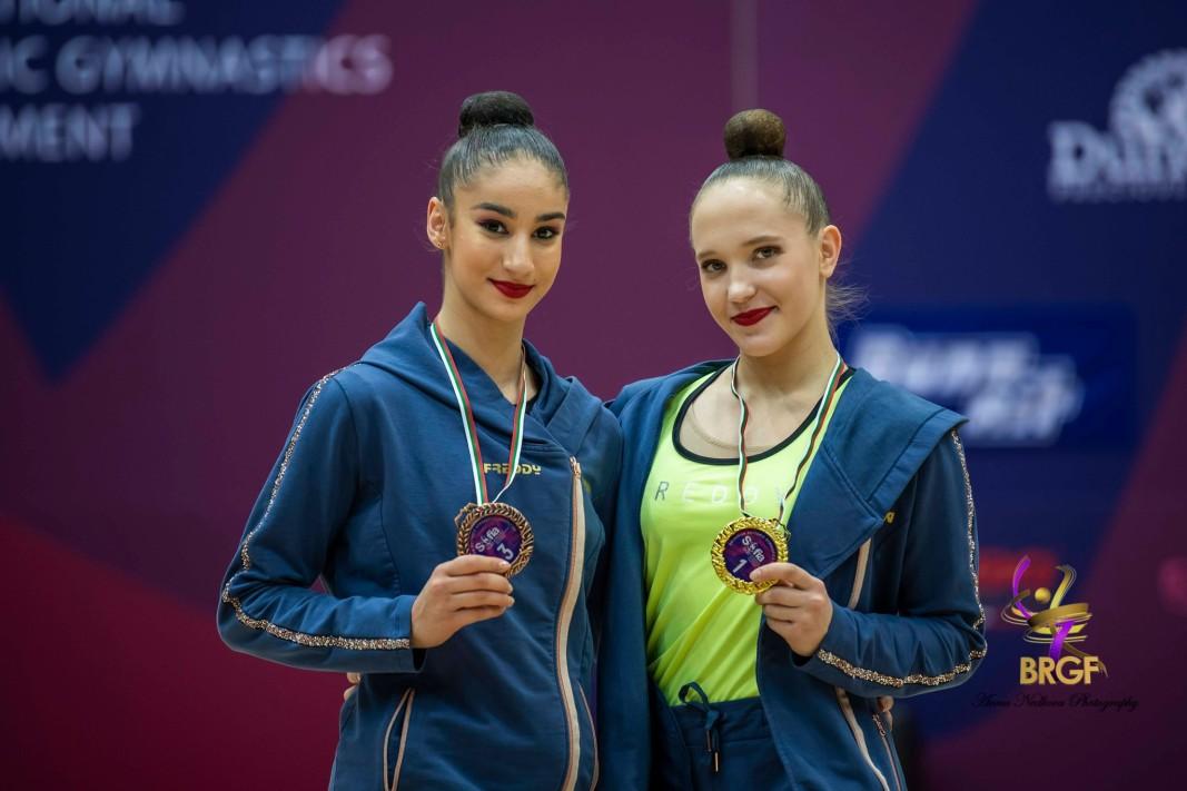 Ева Брезалиева и Татяна Воложанина