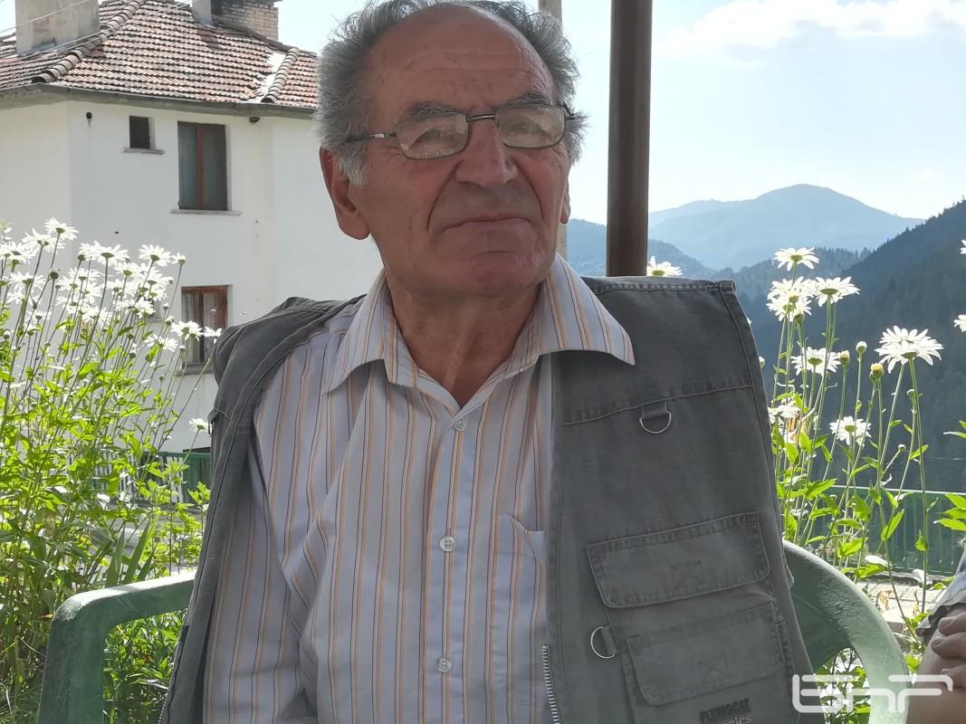 Марин Глухов, ръководител на Кутелската фолк група