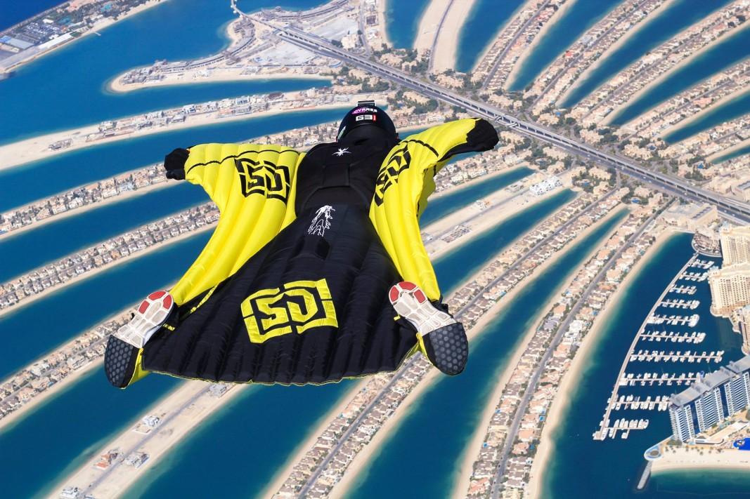 Уингсютинг в Дубай