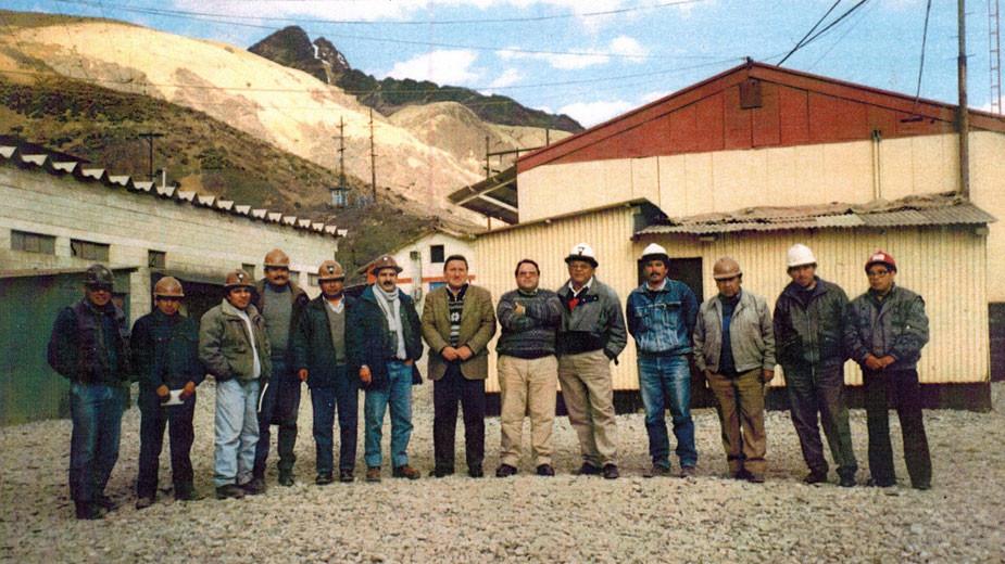 """Сред работниците и инженерите на мина """"Ел тениенте"""