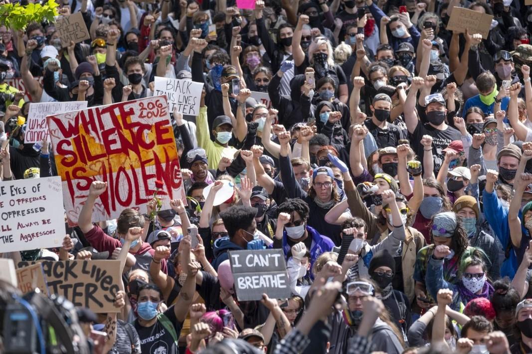 Демонстрация в Сиатъл.