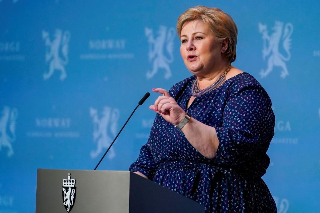Ерна Солберг, министър-председател на Норвегия