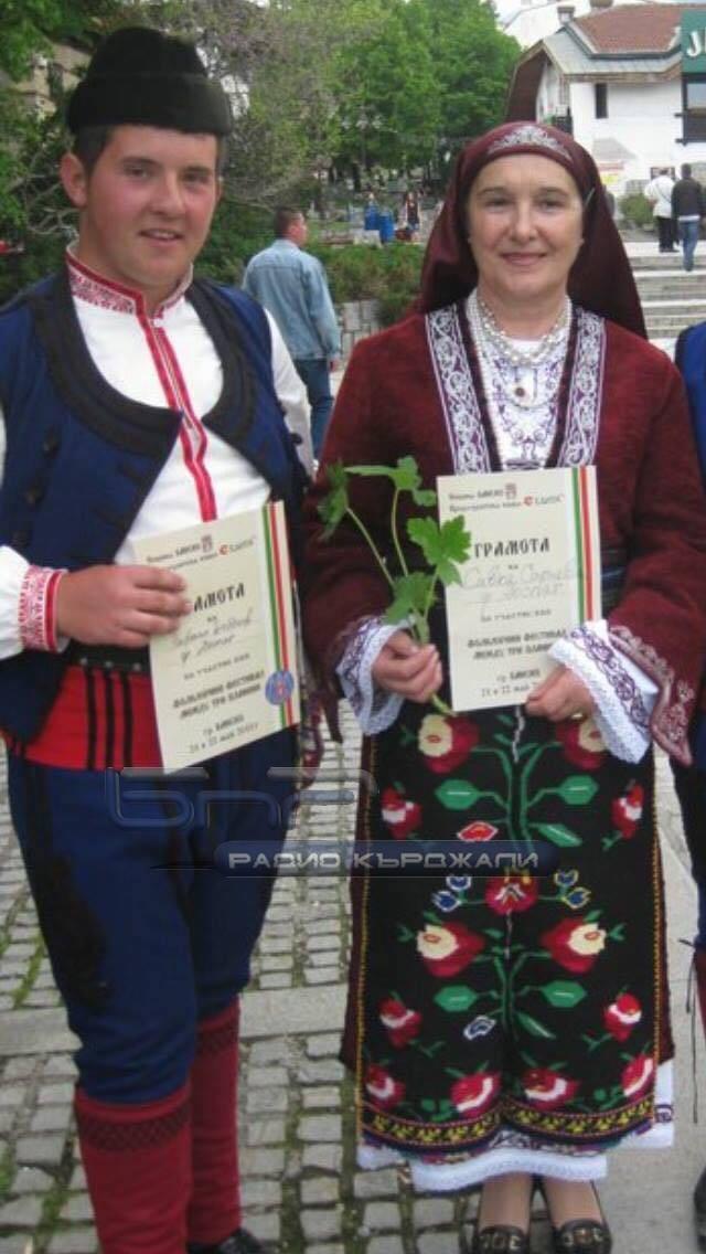 Рафаел Боболев и Савка Сариева. Снимка: личен архив