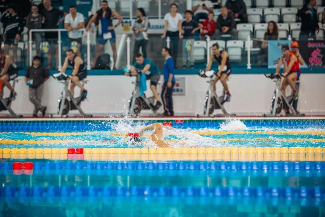 Плуване и колоездене