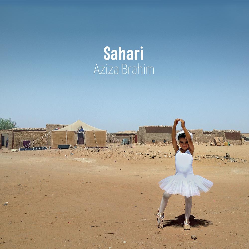 """Обложка на албума """"Sahari"""" на Азиза Брахим: Glitterbeat Records"""