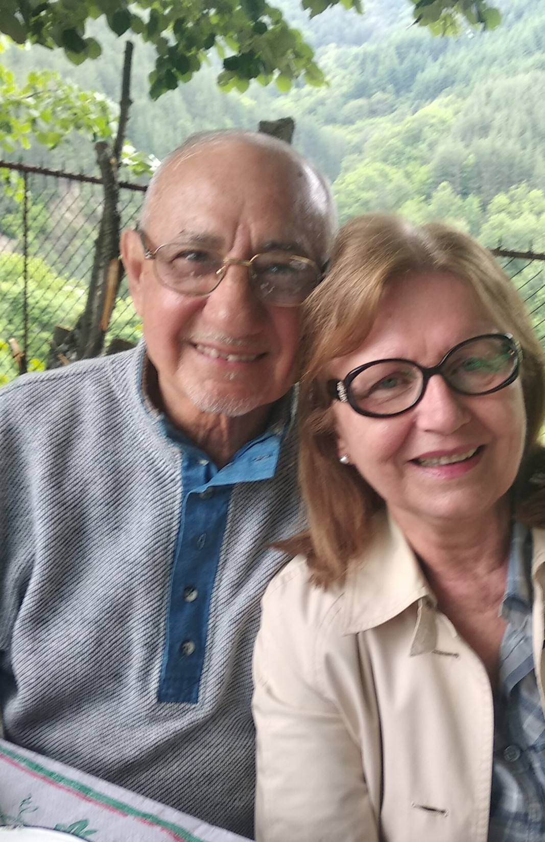 Жозеф Салиба и Спаска Чавеева