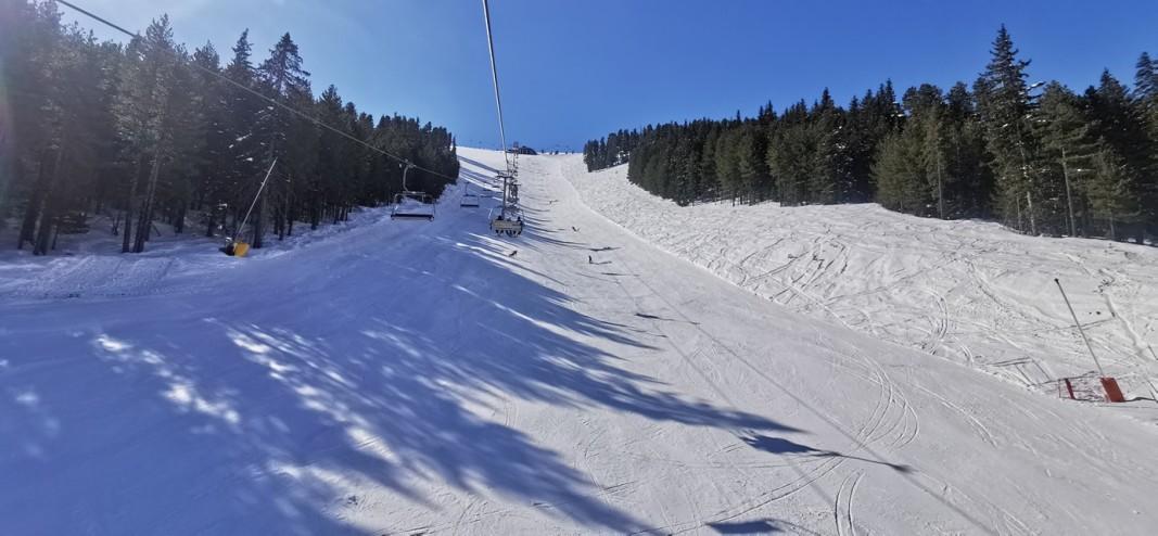 Bansko ski runs, Pirin Mountain