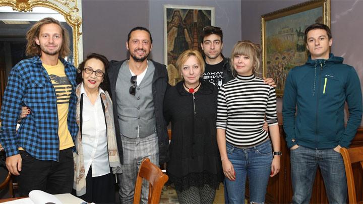 """Екипът на """"Облог"""" Снимка: Божидар Марков"""