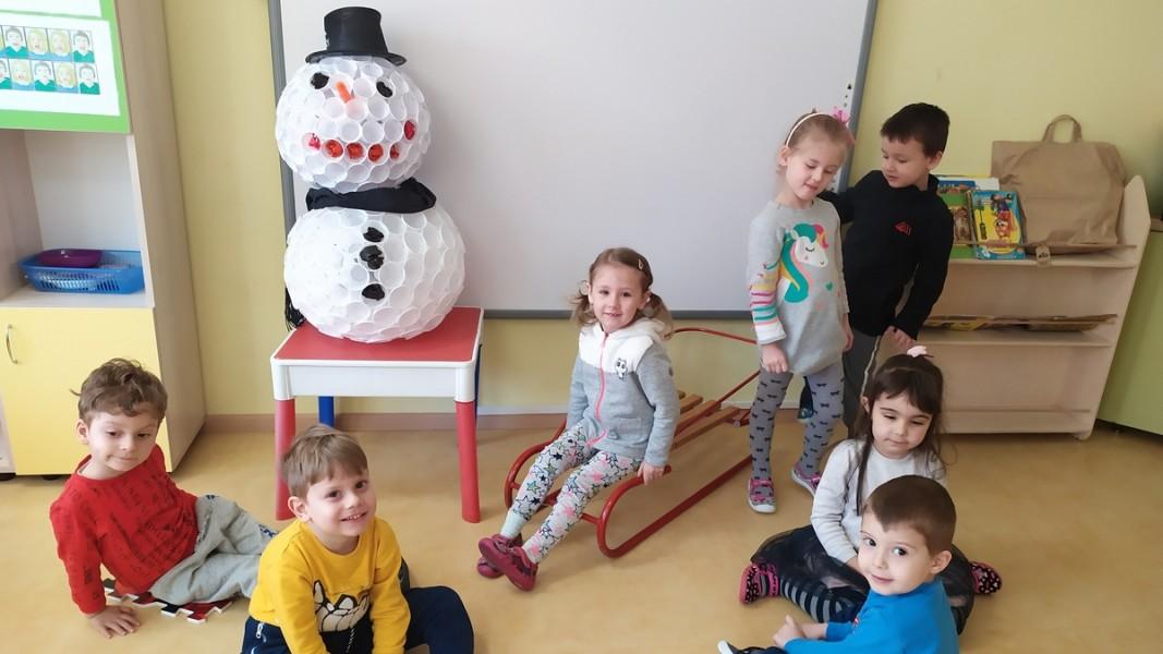 """Деца от 124 Детска градина """"Бърборино"""