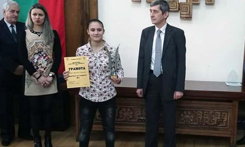 Състезателката по карате Ивет Горанова беше избрана за