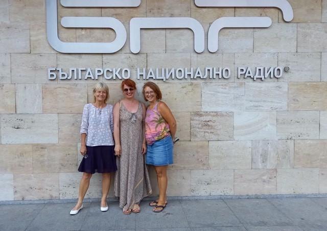 Павлина Михайлова, Невена Праматарова и Аделина Христова (от ляво надясно)