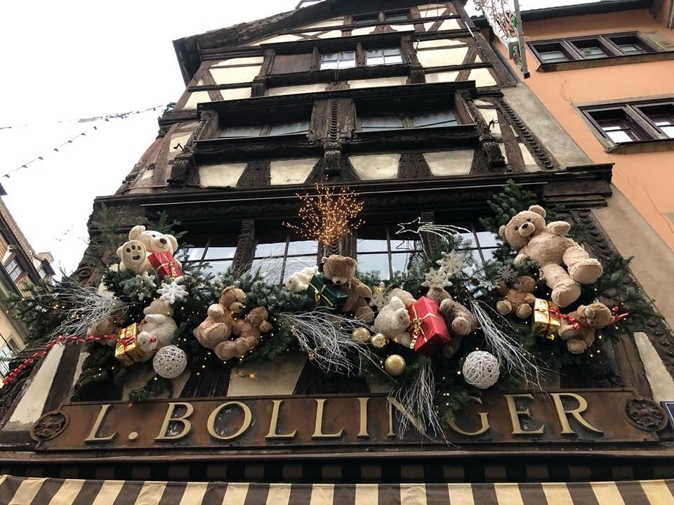 Коледния базар в Страсбург