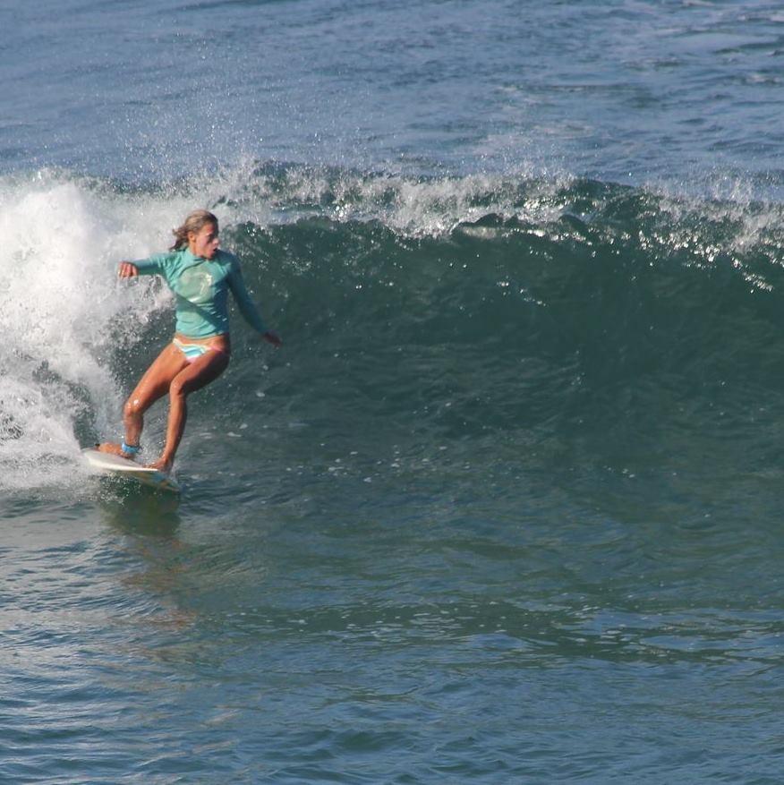 Радка Петкова със сърфа