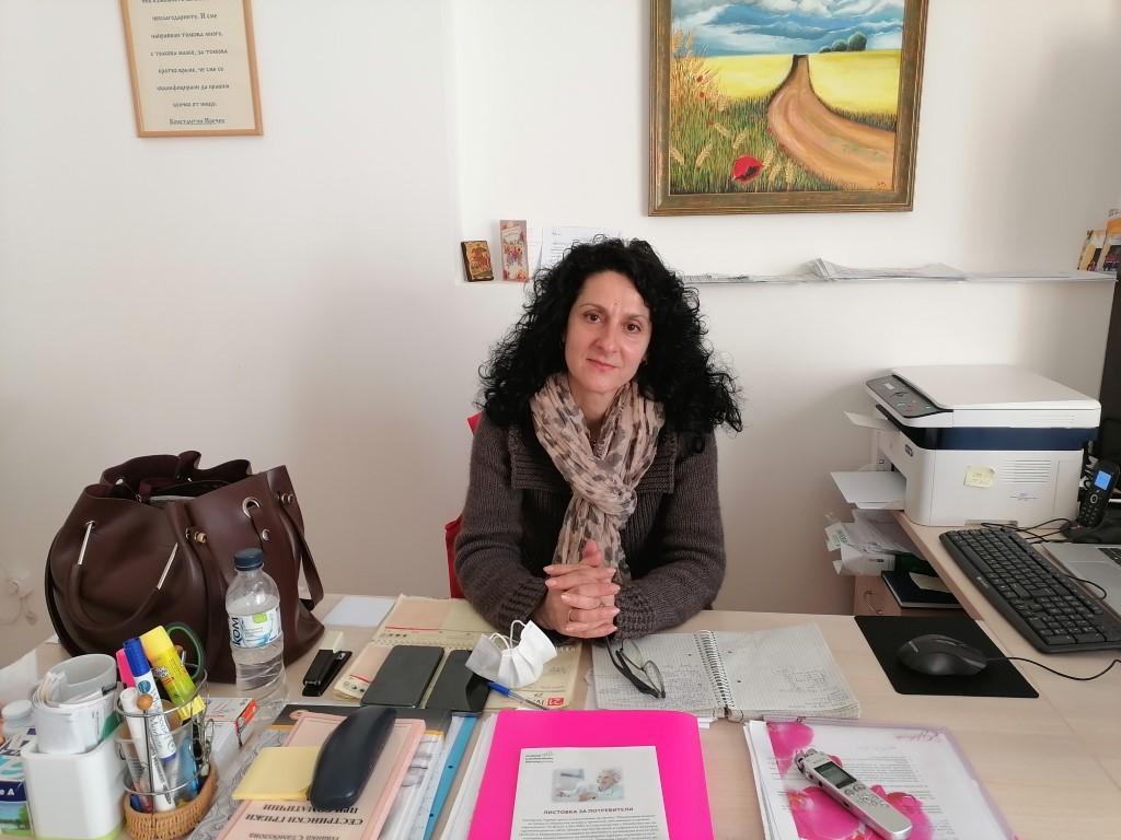 Моника Величкова, координатор на Център