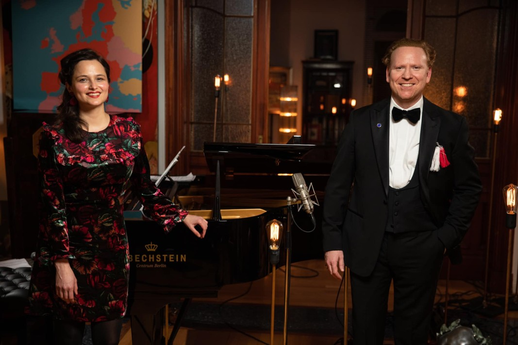 Дора Делийска и Даниел Хоуп в Берлин