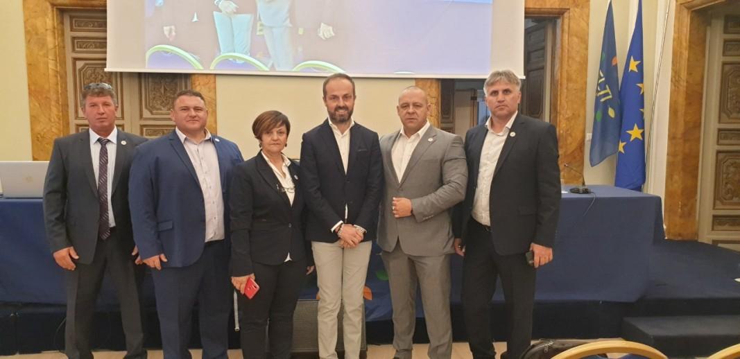 Ръководство - УНИТАБ - РИМ-Цветан Филев е вторият отдясно