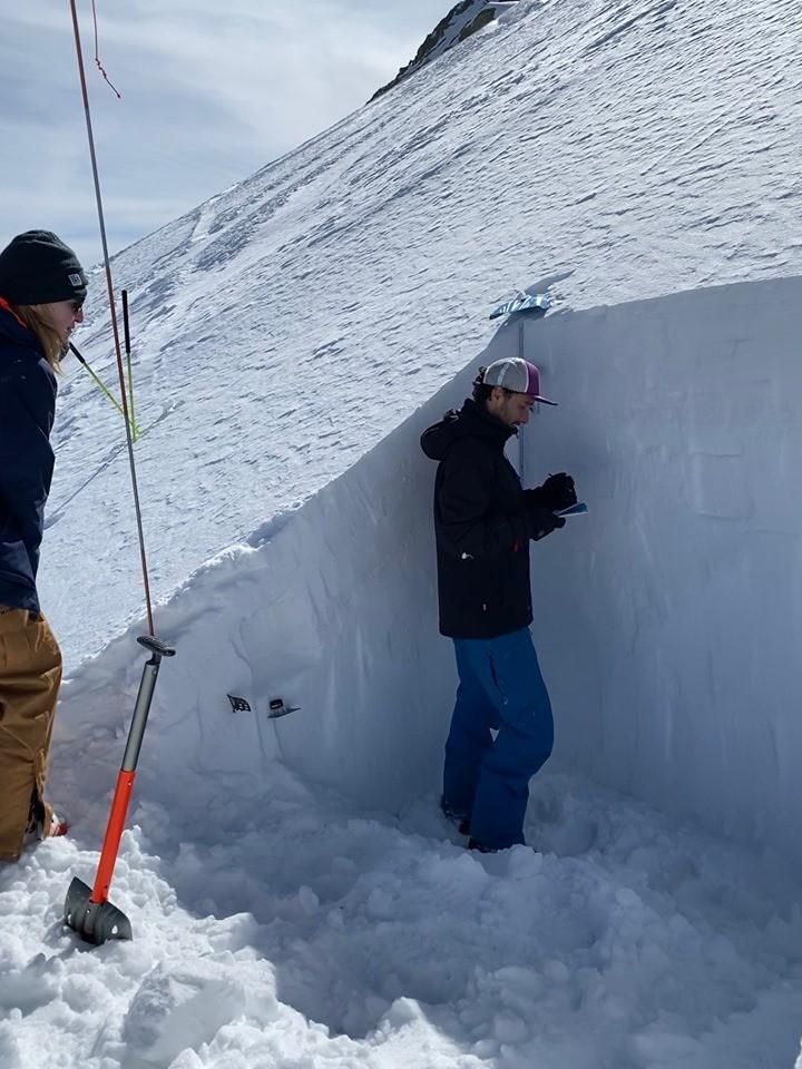 Изследване на снежната покривка