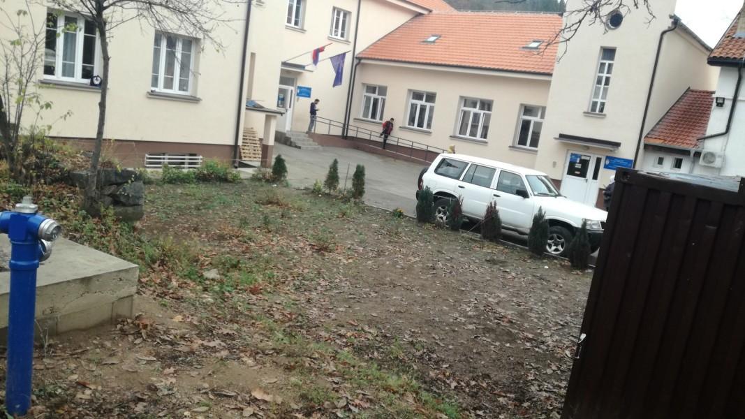 Центърът за бежанци в Босилеград