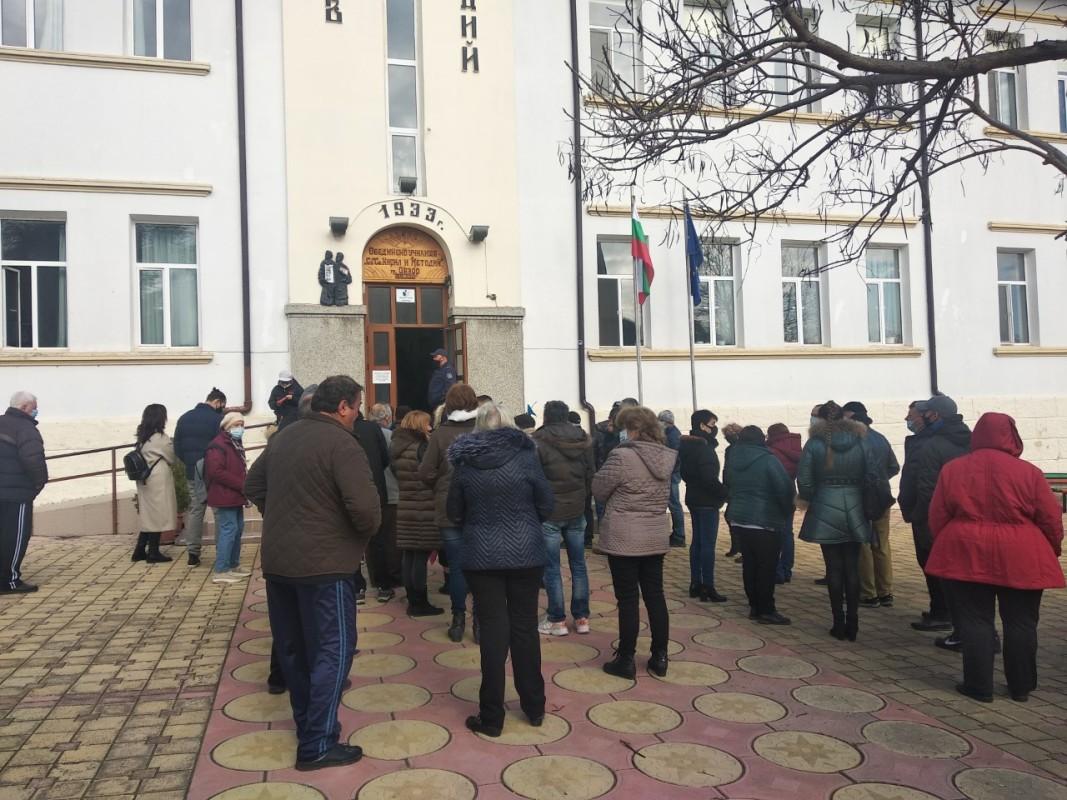 Гласоподаватели чакат , за да дадат своя вот - 28 февруари 2021 г.