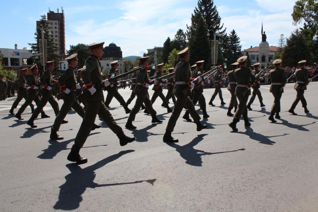 С откриването на 12-ия Международен фестивал на военните оркестри тази