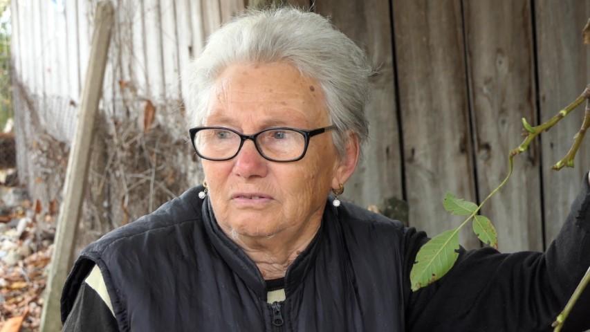 Веска Младенова разказва през сълзи спомените си от 1.10.2014 година