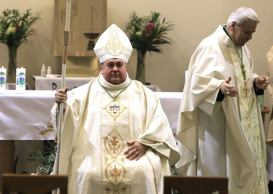 """В Римокатолическата катедрала """"Св. Йосиф"""" в София се състоя церемония по епископско ръкоположение на Негово Преосвещенство монсеньор Румен Станев."""
