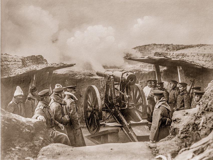 Trinchera búlgara, 1912