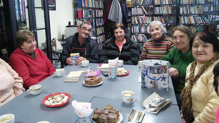 Пенсионерският клуб в Долни Богров. Снимка: Дарина Арнаудова