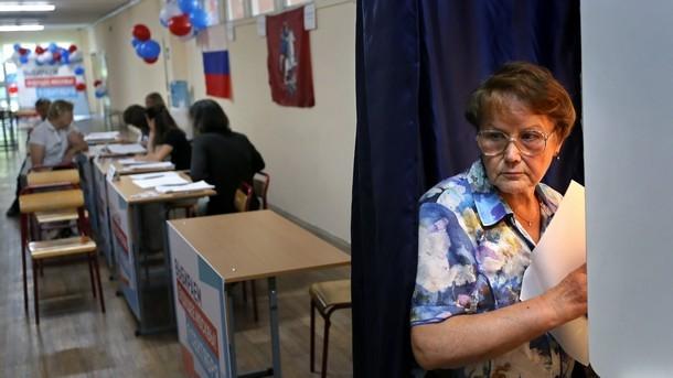 """Поражение на управляващата партия """"Единна Русия"""" на вчерашния втори тур"""