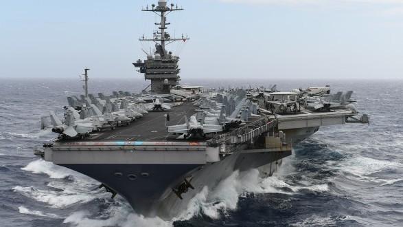 """""""Хари С. Труман"""" е осмият самолетоносач от клас """"Нимиц"""" на ВМС на САЩ"""