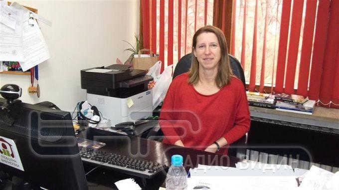 Десислава Иванова, директор на Регионалната библиотека във Видин
