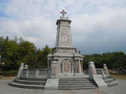 Мемориал болгарских ополченцев в Болграде