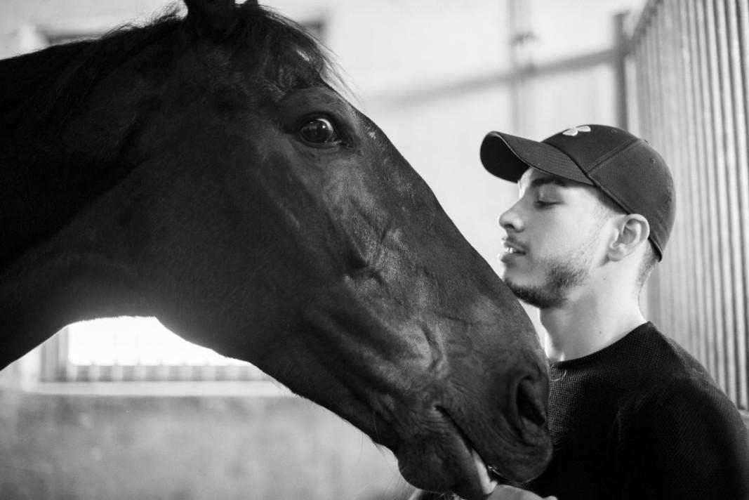 Здравко Тренев с коня Доренто