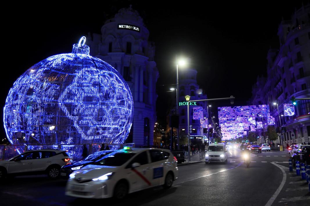 Празничните светлини в Мадрид - 26 ноември 2020г.