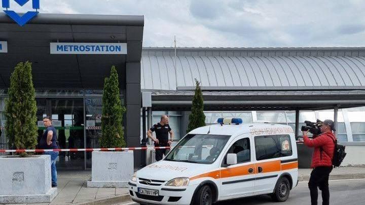 Инцидентът е станал в мотриса на метростанция