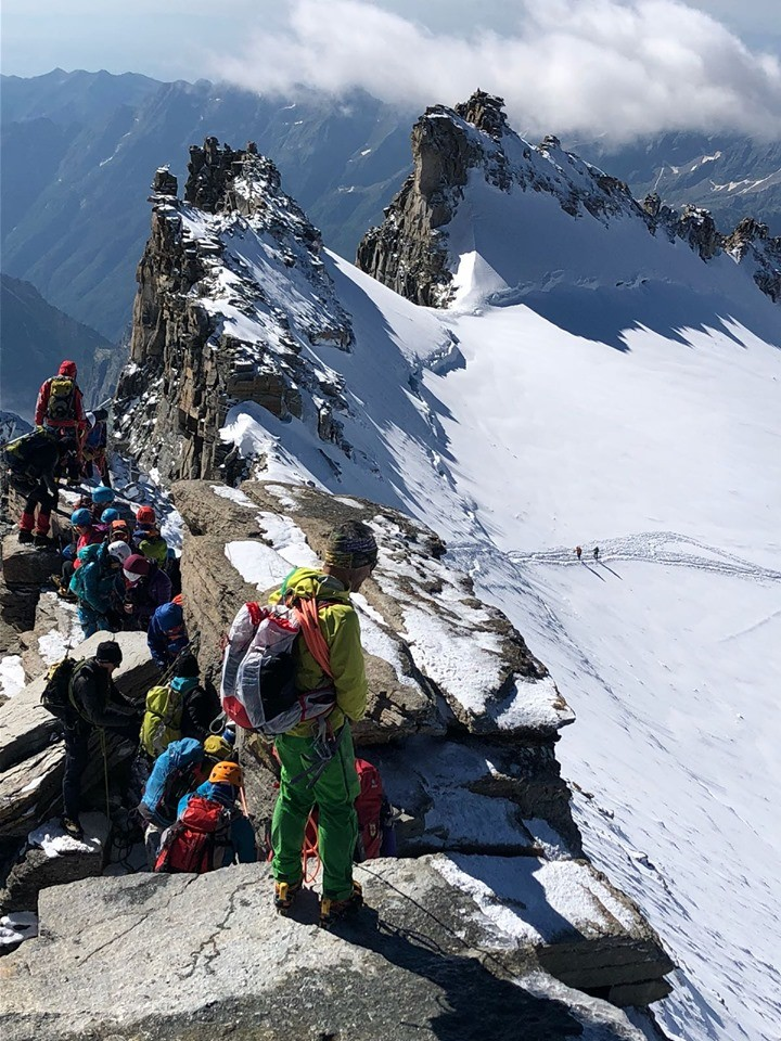 На връх Гран Парадизо