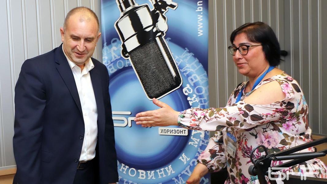 Румен Радев  и Диана Янкулова