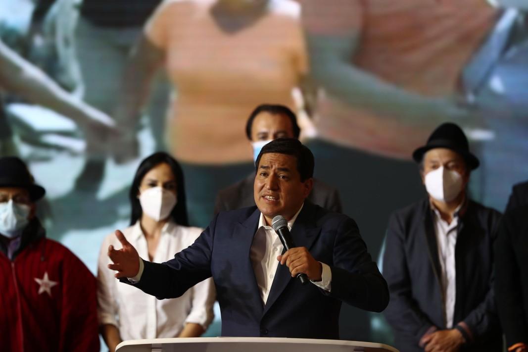 Кандидатът на левицата Андрес Арауз призна поражението си на изборите в Еквадор