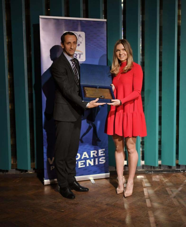 Снимка: Симона Халеп и Мариус Копил са №1 в румънския тенис