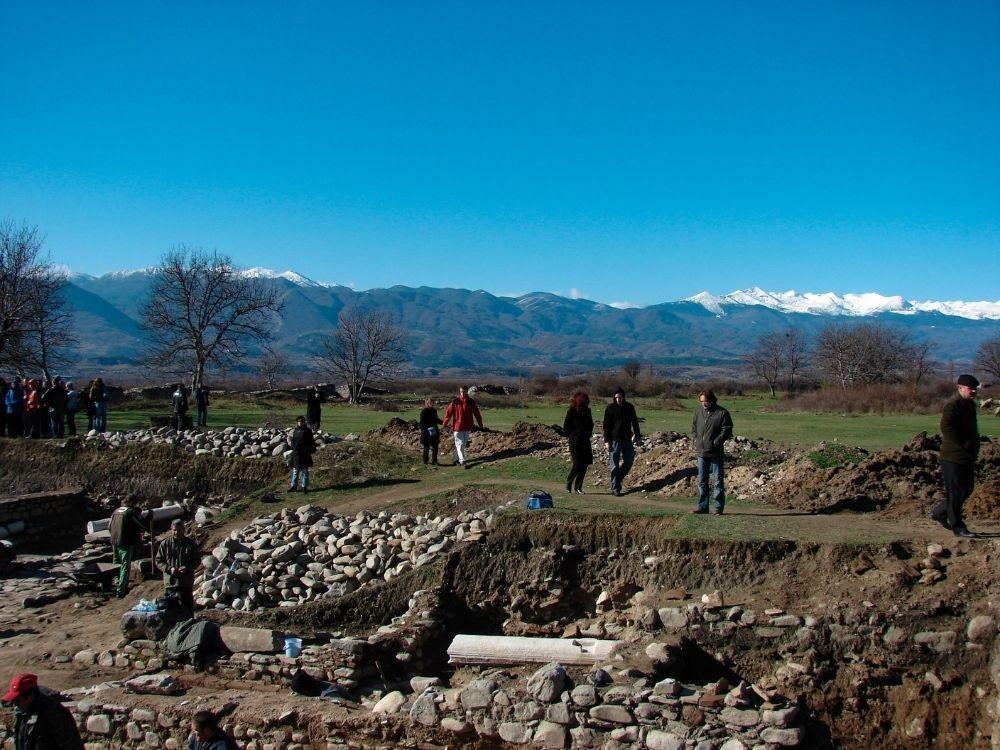 Археологически разкопки на Никополис ад Нестум през 2006 г