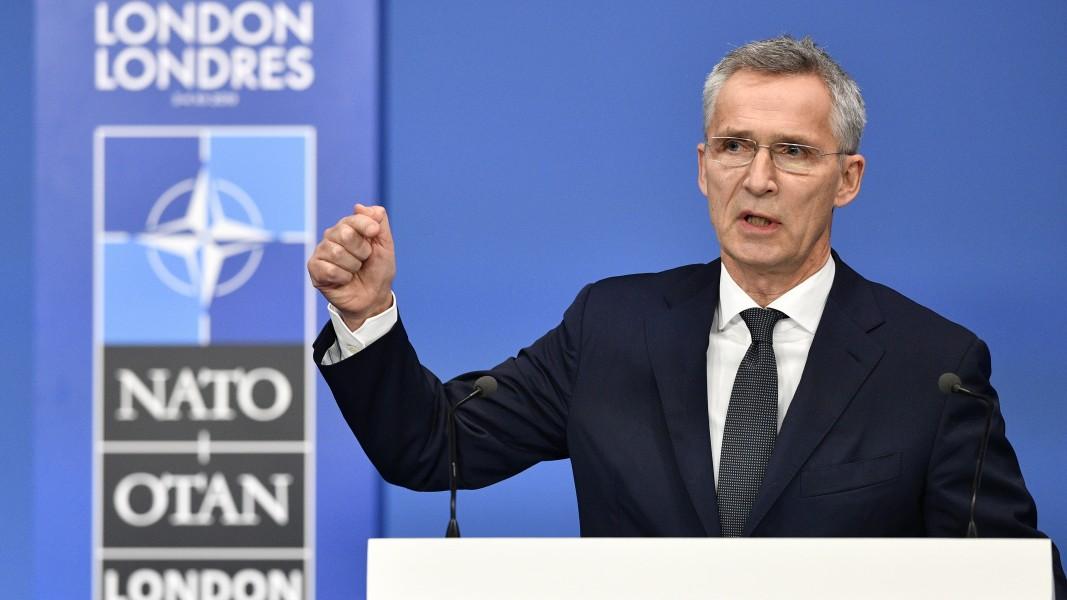 Йенс Столтенберг даде пресконференция веднага след приключването на срещата на НАТО