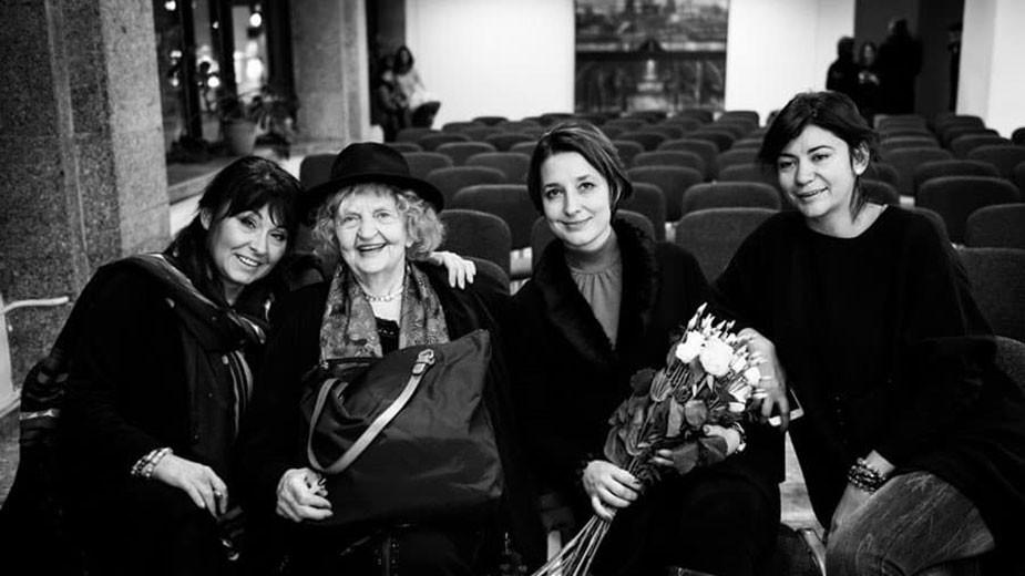 Мария Лалева, Татяна Лолова, Катя Костова и Елица Пенова
