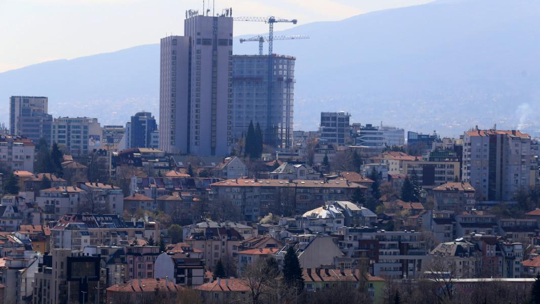 """""""Лозенец"""" е сред най-гъсто застроените столични квартали    Снимка: БГНЕС"""