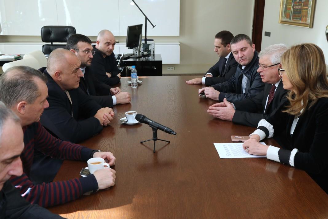 Борисов проведе съвещание във връзка с мерките за ограничаване на коронавируса у нас.